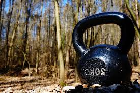 kettlebell, exercise, nature, fitness, crossfit, training, fit, sports,  gym, the movement of the, athletic | Pikist